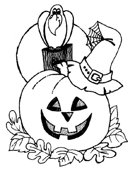 Coloriage d halloween - Coloriages d halloween ...